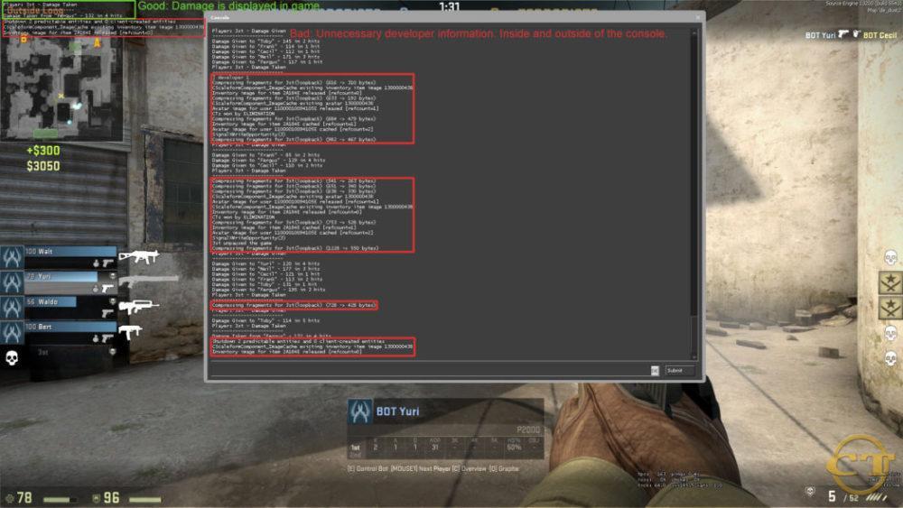 Консольные команды настройки FPS в cs go